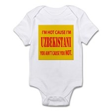 Hot Uzbekistani Infant Bodysuit