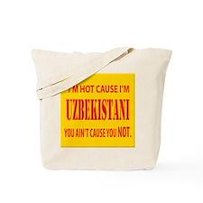 Hot Uzbekistani Tote Bag