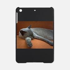 russian blue sleeping iPad Mini Case