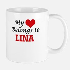 My heart belongs to Lina Mugs