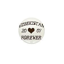 Uzbekistan forever Mini Button