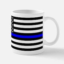 Police: Black Flag & The Thin Blue Line Mugs