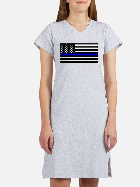 Police: Black Flag & The Thin Blue Line Women's Ni
