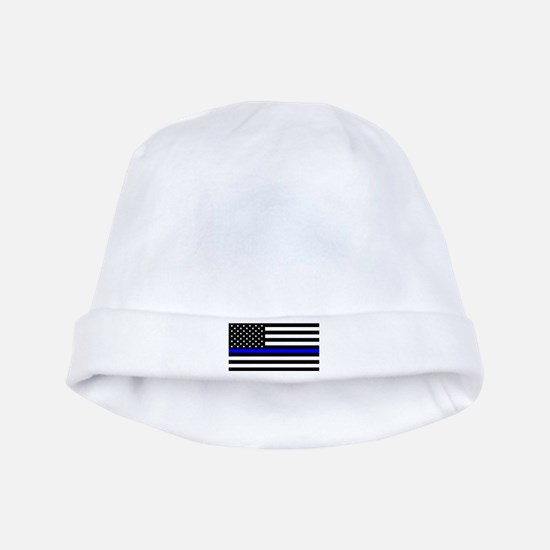Police: Black Flag & The Thin Blue Line baby hat