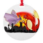 Venomothra Vs Charzilla Ornament
