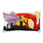 Venomothra Vs Charzilla Pillow Case