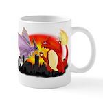 Venomothra Vs Charzilla Mugs