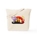 Venomothra Vs Charzilla Tote Bag