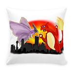 Venomothra Vs Charzilla Everyday Pillow