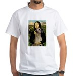 Mona / Great Dane White T-Shirt