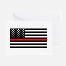 Firefighter: Black Flag Greeting Cards (Pk of 20)