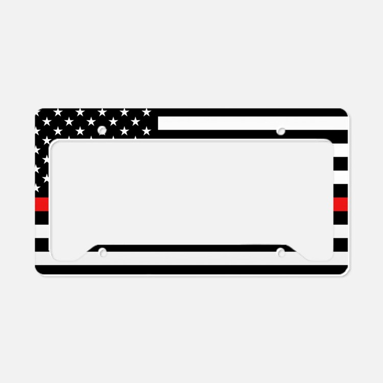 Volunteer Firefighter License Plate Frame.Etsy :: Your Place To Buy ...