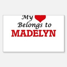 My heart belongs to Madelyn Decal