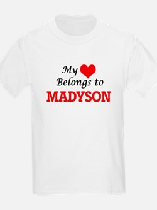 My heart belongs to Madyson T-Shirt