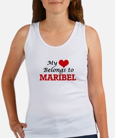 My heart belongs to Maribel Tank Top