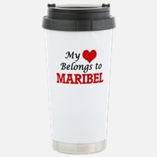 My heart belongs to Mar Travel Mug