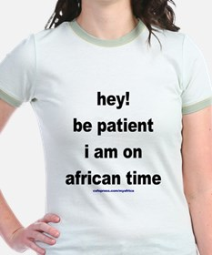 African Time Ringer T-Shirt