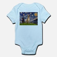 Starry / Great Dane Infant Bodysuit