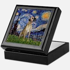 Starry / Great Dane Keepsake Box