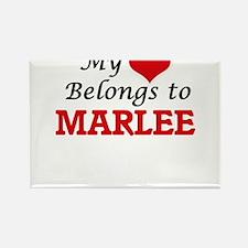 My heart belongs to Marlee Magnets