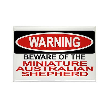 MINIATURE AUSTRALIAN SHEPHERD Rectangle Magnet (10