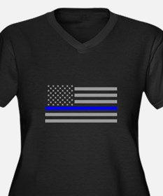 Thin Blue Line Plus Size T-Shirt