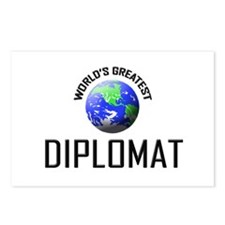 World's Greatest DIPLOMAT Postcards (Package of 8)
