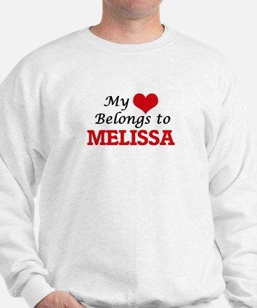 My heart belongs to Melissa Jumper