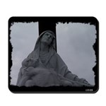 New Orleans cemetery statue Mousepad