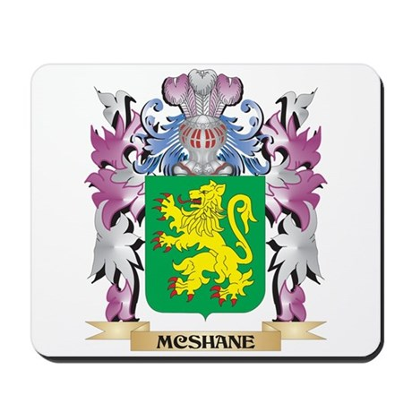 Mcshane Coat Of Arms   Family Crest Mousepad