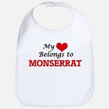 My heart belongs to Monserrat Bib