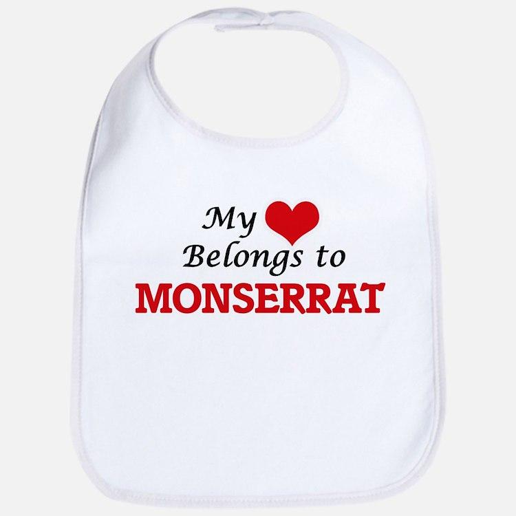 My heart belongs to Monserrat Bib