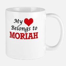 My heart belongs to Moriah Mugs