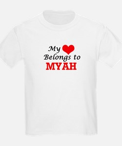 My heart belongs to Myah T-Shirt