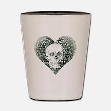 Spectral Skull Shot Glass