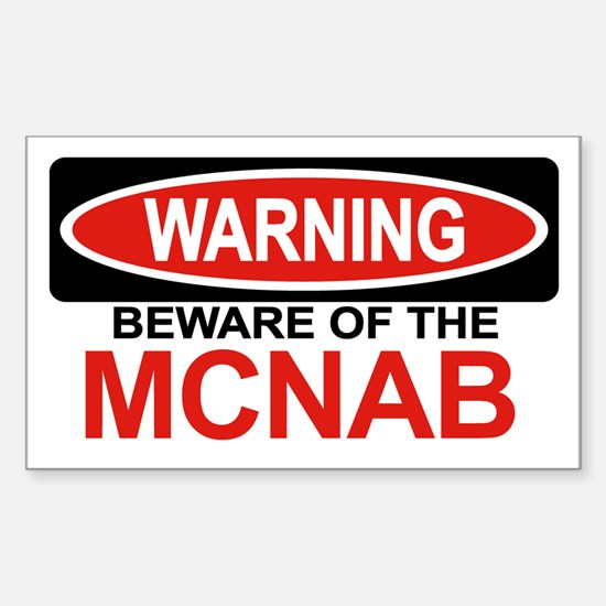 MCNAB Rectangle Decal