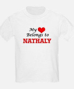 My heart belongs to Nathaly T-Shirt