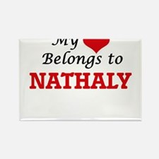 My heart belongs to Nathaly Magnets