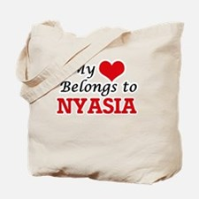 My heart belongs to Nyasia Tote Bag