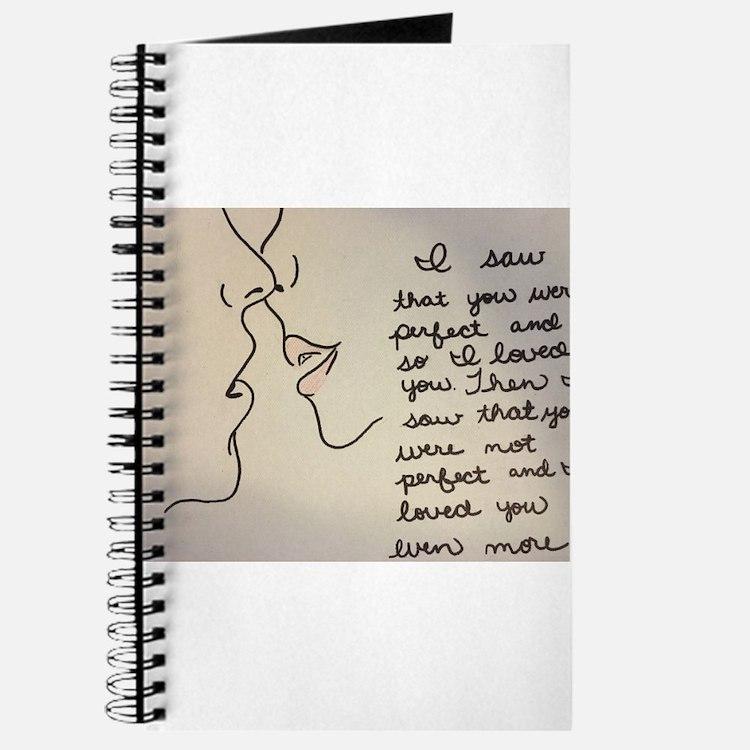 romantic notebooks romantic journals spiral notebooks. Black Bedroom Furniture Sets. Home Design Ideas