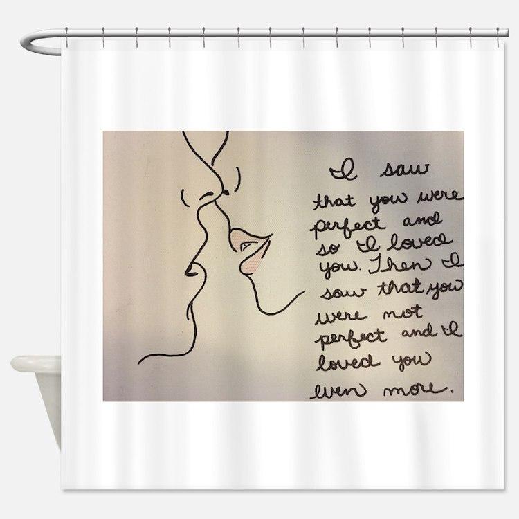 Sweet Kiss Shower Curtain