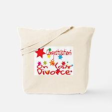 Funny Divorce Tote Bag