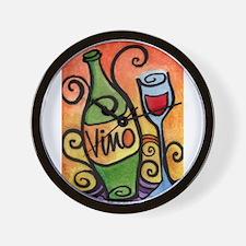 Vino / Wine Lover Wall Clock