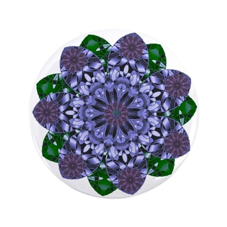 """Lotus Star 3.5"""" Button (100 pack)"""