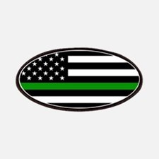 U.S. Flag: The Thin Green Line Patch