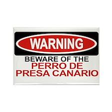 PERRO DE PRESA CANARIO Rectangle Magnet