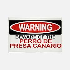 PERRO DE PRESA CANARIO Rectangle Magnet (10 pack)