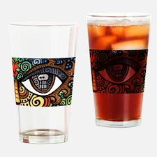 Skull Eye Drinking Glass