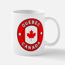 Quebec Canada Mugs