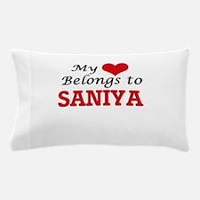 My heart belongs to Saniya Pillow Case
